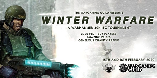 LWG Open: Winter Warfare 2020 - 40K ITC Tournament - 80PPL