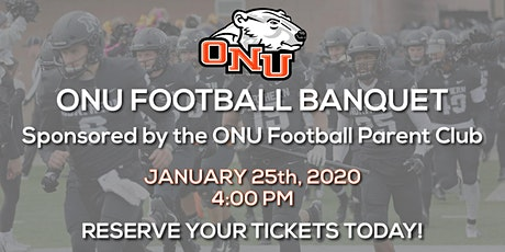 2020 ONU Football Banquet tickets