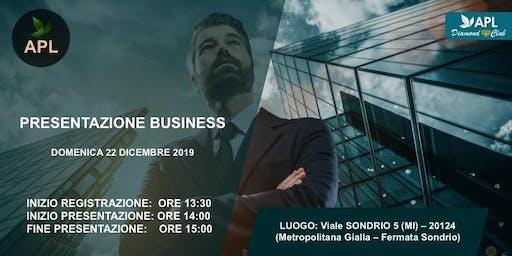 PRESENTAZIONE BUSINESS APL