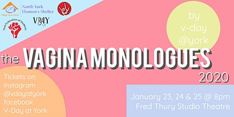 Vday@York Presents: The Vagina Monologues tickets
