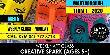 Creative Spark (Ages 5+) - MONDAY CLASS tickets