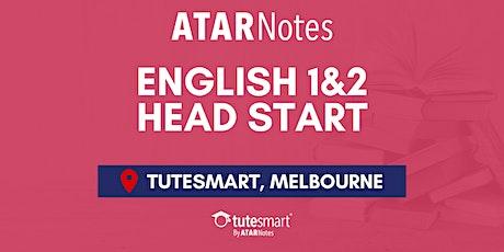 VCE English Units 1&2 Head Start Lecture - Melbourne City billets
