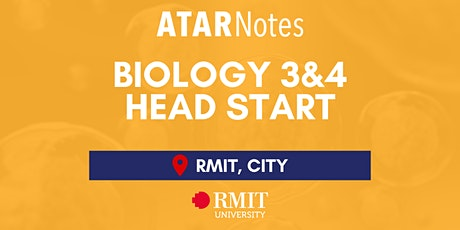 VCE Biology Units 3&4 Head Start Lecture - REPEAT 1 tickets