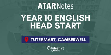 VIC Year 10 English Head Start Lecture - Camberwell tickets
