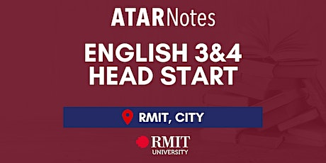 VCE English Units 3&4 Head Start Lecture - REPEAT 2 tickets