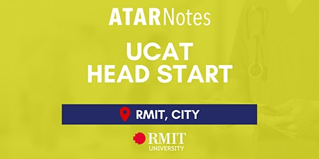 VIC UCAT Head Start Lecture - REPEAT 1 tickets