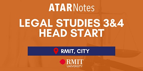 VCE Legal Studies Units 3&4 Head Start Lecture - REPEAT 1 tickets