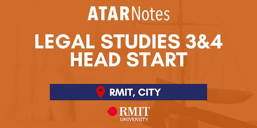 VCE Legal Studies Units 3&4 Head Start Lecture - REPEAT 1