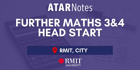 VCE Further Maths Units 3&4 Head Start Lecture - REPEAT 2 tickets