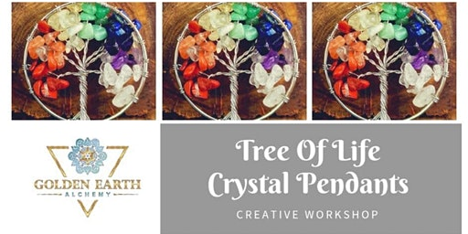 Tree of Life Crystal Pendant Workshop