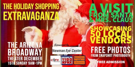 The Holiday Shopping Extravaganza tickets
