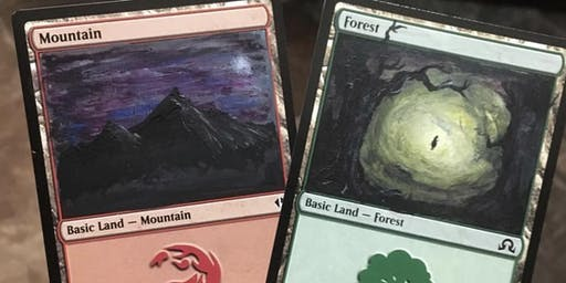 Magic The Gathering Card Art Workshop January
