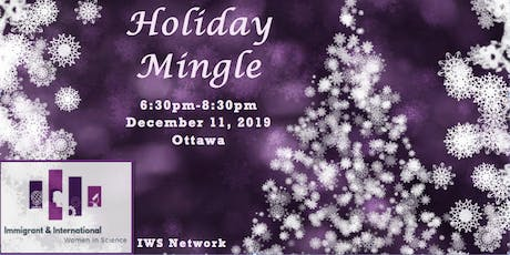 Holiday Mingle  IWS-Ottawa tickets