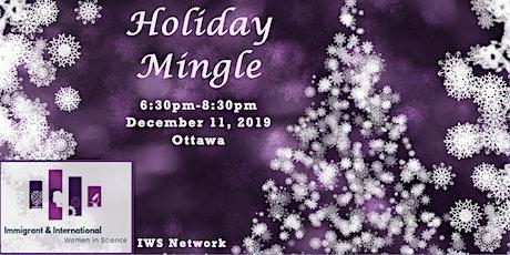 Holiday Mingle  IWS-Ottawa tickets