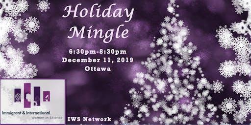 Holiday Mingle  IWS-Ottawa