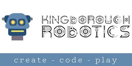 Intro to Bee Bots Woodbridge (3 - 6yrs) - Kingborough Robotics @ West Winds tickets
