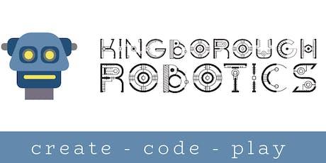 Intro to Ozobots Woodbridge (9 - 12yrs) - Kingborough Robotics @ West Winds tickets
