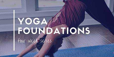 Yoga Foundations Series tickets