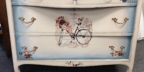 Paint your own piece of furniture with Dixie Belle Paint tickets