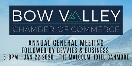 Bow Valley Chamber of Commerce AGM / Bevvies & Business tickets