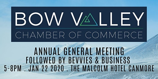 Bow Valley Chamber of Commerce AGM / Bevvies & Business