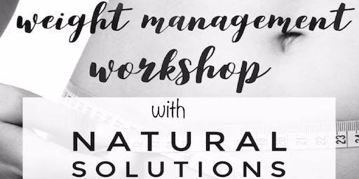 Weight Management Workshop