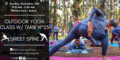 Outdoor yoga class in Rabat n°23: Sweet Spine tickets
