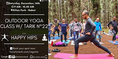 Outdoor yoga class in Rabat n°22: Happy Hips tickets