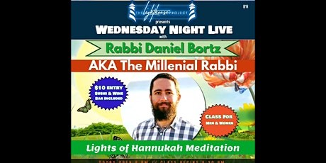 LHP presents Wednesday Night Live with The Millenial Rabbi on Dec 18th tickets