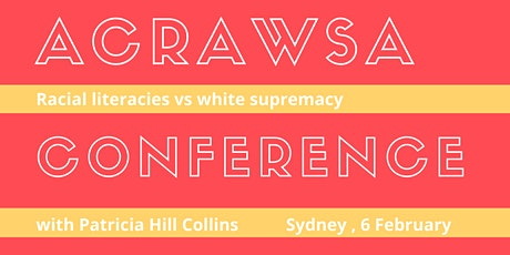 Australian Critical Race & Whiteness Studies Annual Conference 2020 tickets