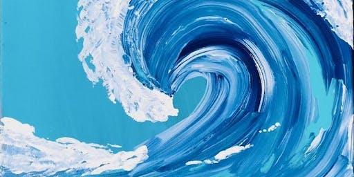 Rolling Wave PAINT N' SIP!