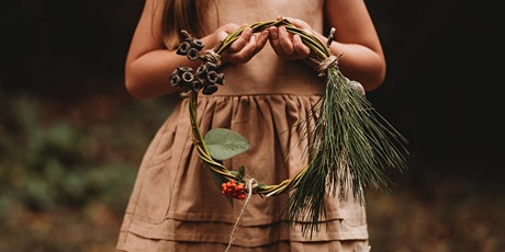 Wild Imagination: Make a Christmas wreath (8 years and over) tickets