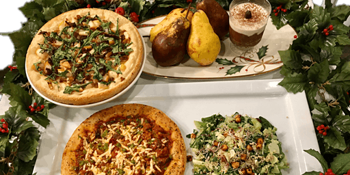 Holiday Gourmet Pizza Party