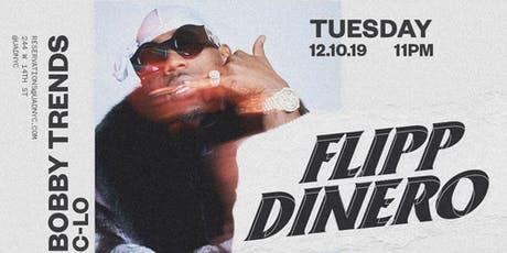Flip Dinero at Up and Down tickets