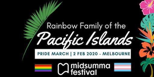 Midsumma March - PACIFIC ISLAND RAINBOW FAMILY registration