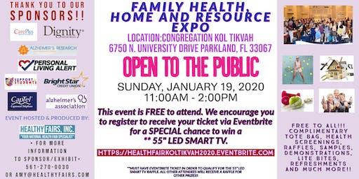 Health, Home and Resource Expo  at Congregation Kol Tikvah 2020