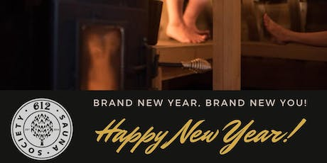 Ring in the New Year in the Sauna!  Dec 31-Jan 1, 2020 tickets