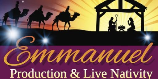 Emmanuel! (A Brand New Christmas Production with Live Animals)