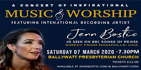A Concert of Inspirational Music & Worship with Jenn Bostic tickets