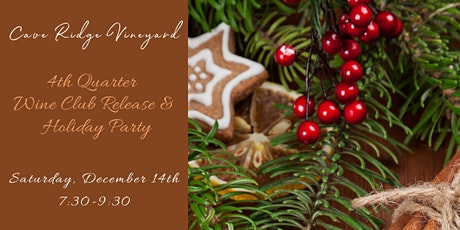 4th Quarter Wine Club Release Holiday Party tickets