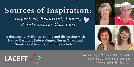 Sources of Inspiration: Imperfect, Beautiful, Loving Relationships that Last tickets