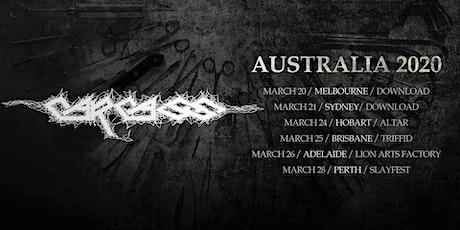 Carcass - Hobart tickets