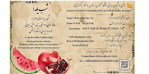 Persian Yalda Night 1398
