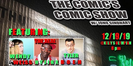 The Comic's Comic Show 12/19/19 tickets