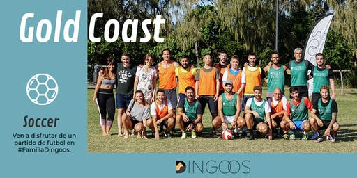 Dingoos Soccer Match - Gold Coast