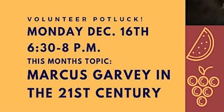 Volunteer Potluck and Free Pie! tickets