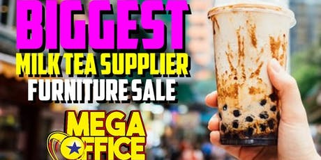 Christmas Milk Tea Shop Furniture Sale in Pampanga tickets
