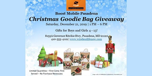Christmas Goodie Bag Giveaway
