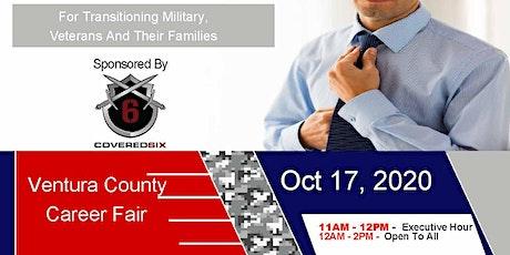 Ventura County Veteran Job Fair - Oct 2020 tickets