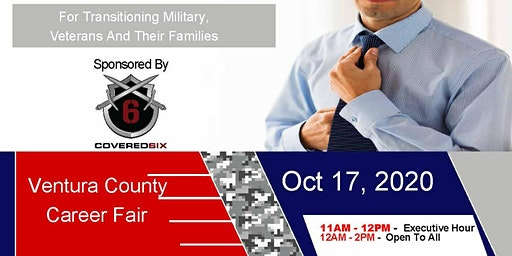 Ventura County Veteran Job Fair - Oct 2020